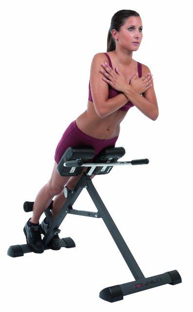 Tricon Rückentrainer im Einsatz