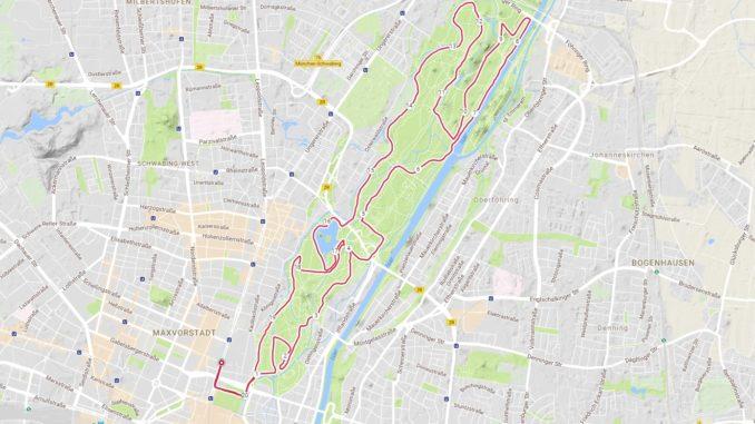 Halbmarathon Strecke