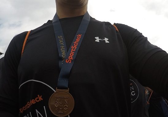 Medaille Stadtlauf