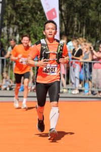 Khoa Nguyen beim Allgäu Marathon